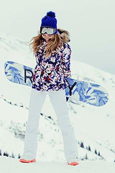 Куртка сноубордическая женский Roxy Jet Ski Jk Mazarine Blue Mind