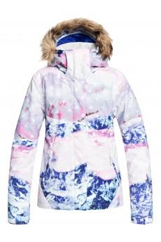 Куртка сноубордическая женский Roxy Jet Ski Se Bright White Pyrenne