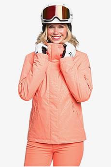 Куртка сноубордическая женский Roxy Jet Ski Solid Fusion Coral Zebra