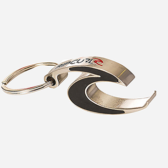 Брелок Rip Curl Nu Icon Keyring Black-15