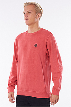 Джемпер Rip Curl Original Surfers Crew Washed Red