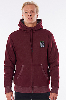 Толстовка Rip Curl Agile Lined Fleece Maroon