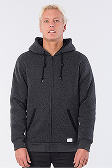 Толстовка Rip Curl Crescent Zip Thru Black Marled
