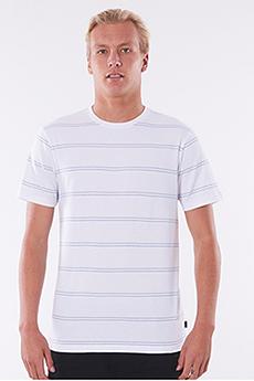 Футболка Rip Curl Plain Stripe Tee White/Blue