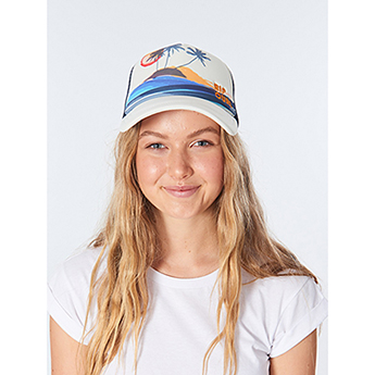 Кепка женская Rip Curl Surf Scenic Trucker Cream
