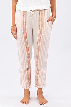 Брюки женские Rip Curl Baja Stripe Pant Bone