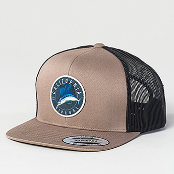 Бейсболка Rip Curl Destination Surf Trucker Cap Dark Khaki