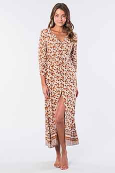 Платье женское RIPCURL Spice Temple Maxi Dress Orange