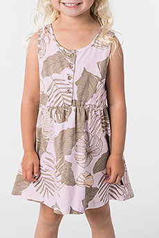 Платье детское RIPCURL Mini Palm Cove Dress Lilac