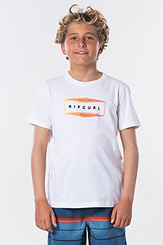 Футболка детская RIPCURL Corpo Tee Boy Optical White