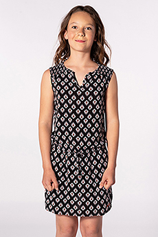 Платье детское RIPCURL Odesha Geo Dress Black