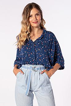 Блузка RIPCURL Portofino Shirt Pacific Blue