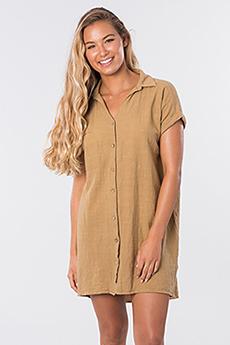 Платье женское RIPCURL The Adrift Dress Mustard