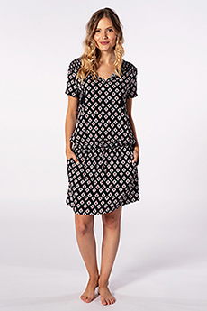 Платье женское RIPCURL Odesha Geo Dress Black