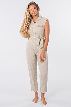 Комбинезон женский RIPCURL The Off Duty Boiler Suit Stone Blue