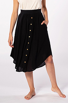 Юбка женская RIPCURL Oasis Muse Skirt Black