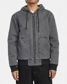 Мужская куртка-бомбер Hooded Canvas