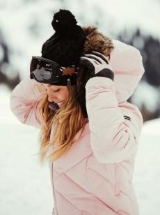 Женская шапка с помпоном Winter
