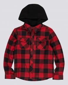 Детская рубашка с капюшоном Tacoma 2C