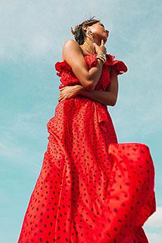 Платье-мини с принтом Your Side