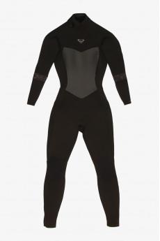 Женский гидрокостюм с длинным рукавом и молнией на спине 5/4/3mm Syncro