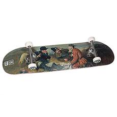 Скейтборд в сборе  Gentlemens 8,25x31,875,Medium Колёса 53mm/100a Подвески 139 Подшипники ABEC 7
