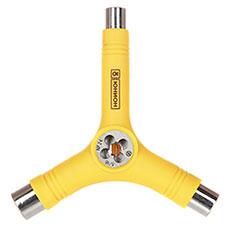 Ключ для скейтборда Ю желтый
