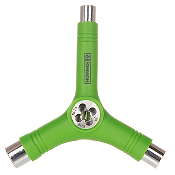 Ключ для скейтборда Юнион зеленый
