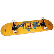Скейтборд в сборе Юнион Advertise 8,0x31,785 Medium, Колёса 52mm/102a Подвески 139, Подшипники ABEC 7