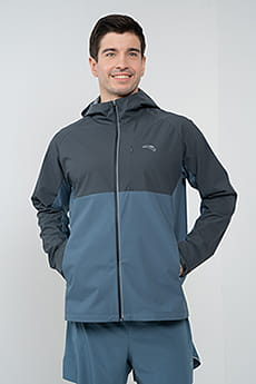 Ветровка с капюшоном Running A-NANO RAIN-RESISTANT/A-WINDPROOF BREATHABLE