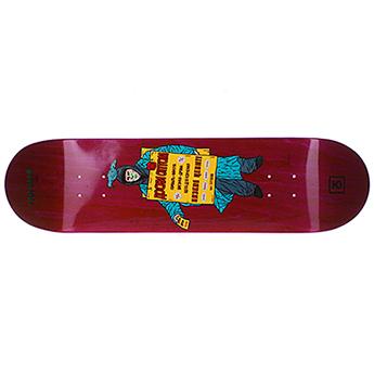 Дека для скейтборда Юнион Advertise Red размер 8.25x32, конкейв medium