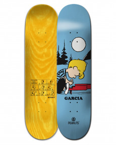 "Дека для скейтборда Peanuts Schroeder x Nick Garcia 8.25"""
