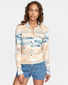Женская рубашка с длинными рукавами Rolling