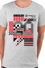 Футболка Wearcraft Premium Slim Fit Mail.ru #20летВперёд_2 Серый Меланж