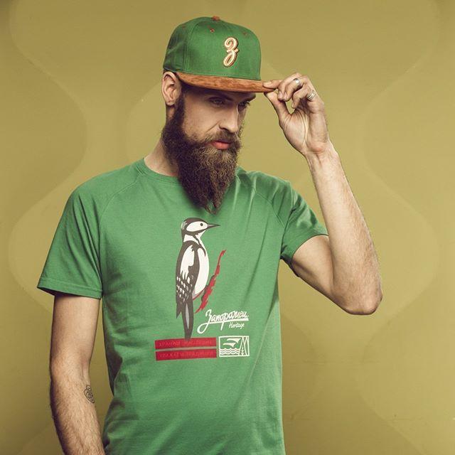 Футболка Запорожец Ptichka Dark Green