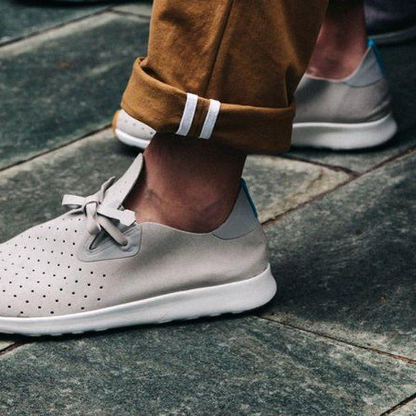 Кроссовки Native Apollo Moc Biege/White