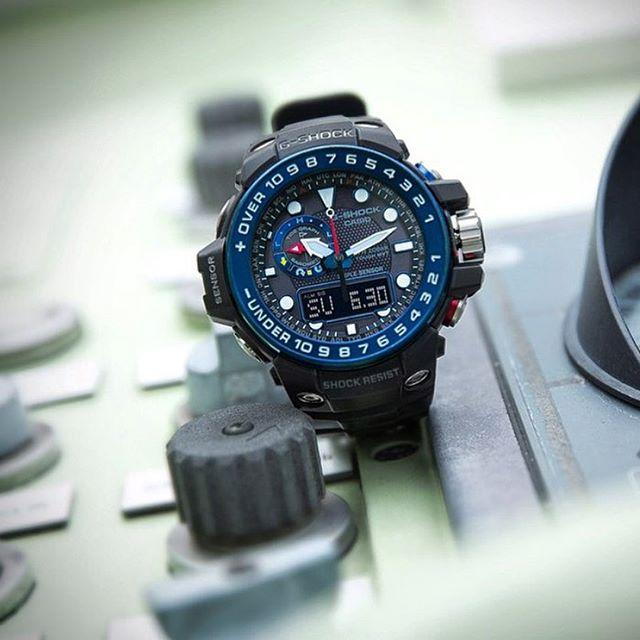 Часы Casio G-Shock Gulfmaster Gwn-1000b-1b Black/Navy