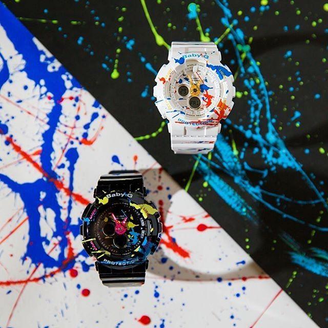 Электронные часы детские Casio G-Shock Baby-g Ba-120spl-1a