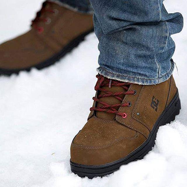 Ботинки зимние DC Shoes Spt Brown/Black