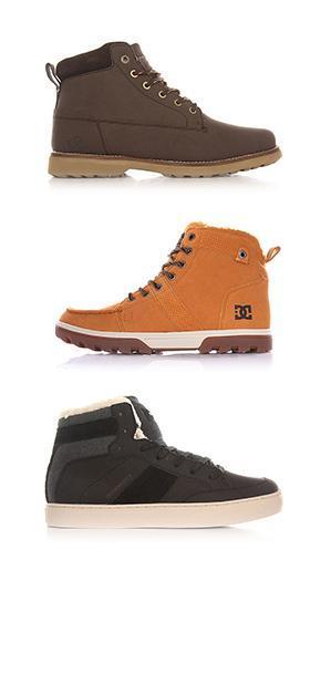 Зимние кеды</br>  и ботинки