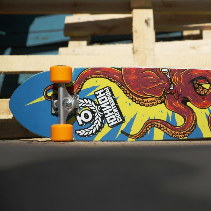 Скейт круизер Юнион Octopus Multi 8.5 x 31.5 (78.7 см)