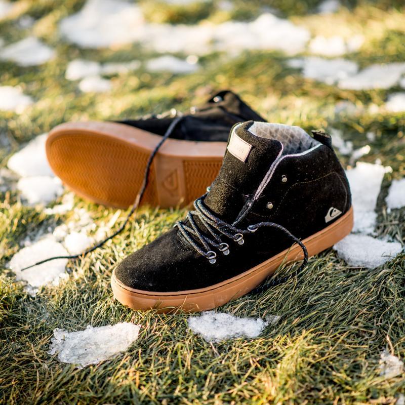 Ботинки высокие Quiksilver Jax M Shoe Black/Brown