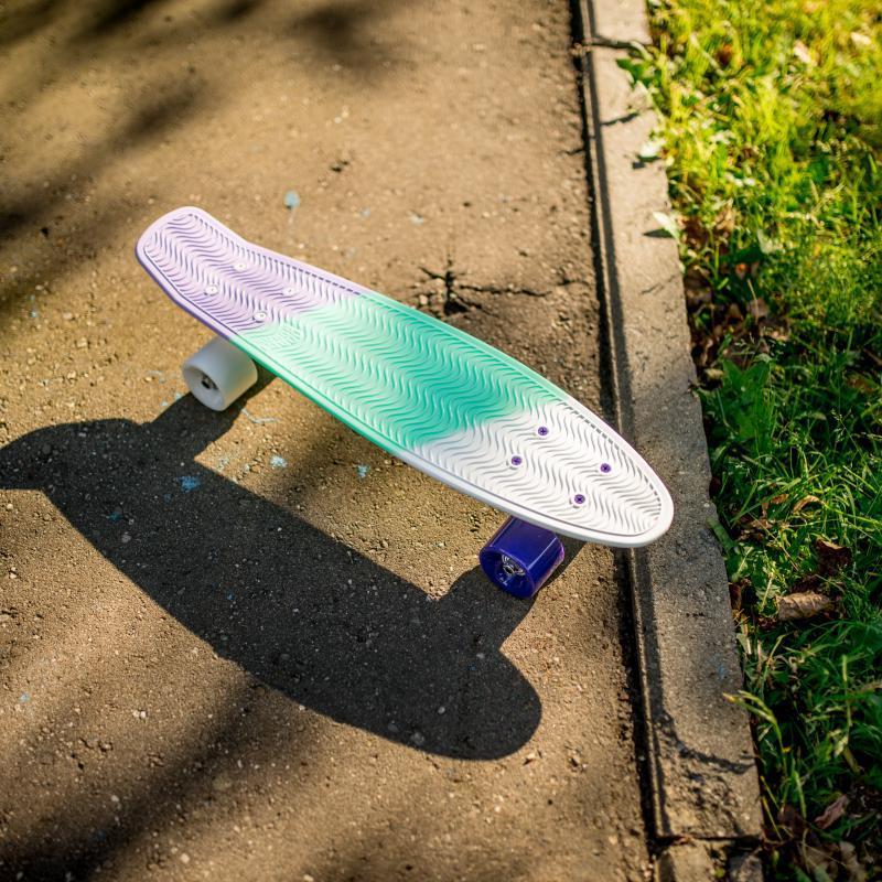 Скейт мини круизер Пластборд Bitter Multi 6 x 22.5 (57.2 см)