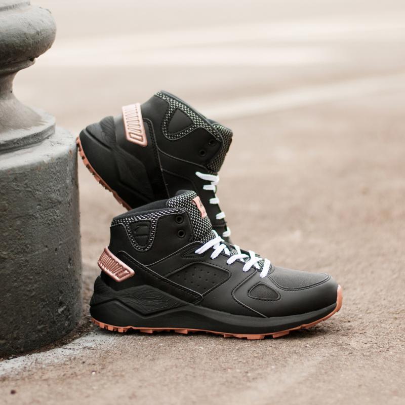 Ботинки зимние женские Anta 82746921-4 Black