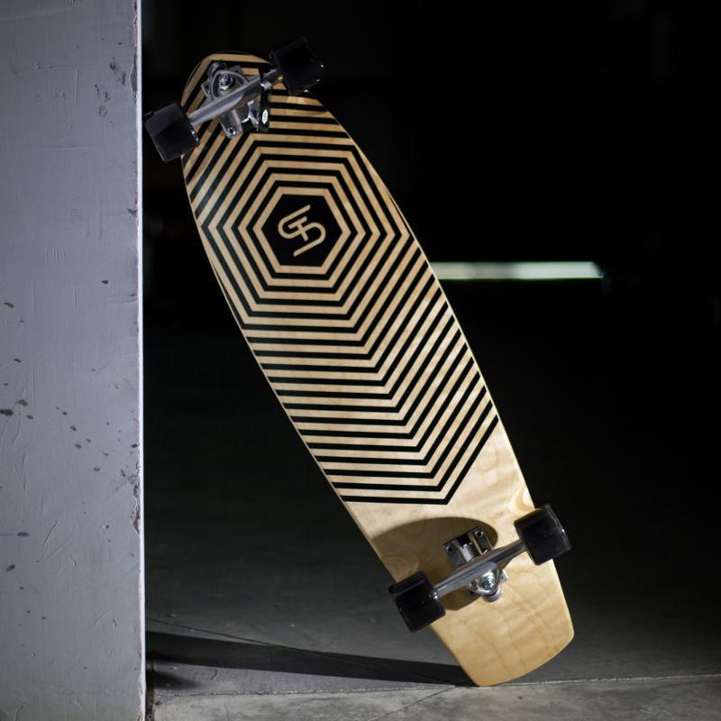 Лонгборд St Echo Black 10 x 35.5 (90 см)