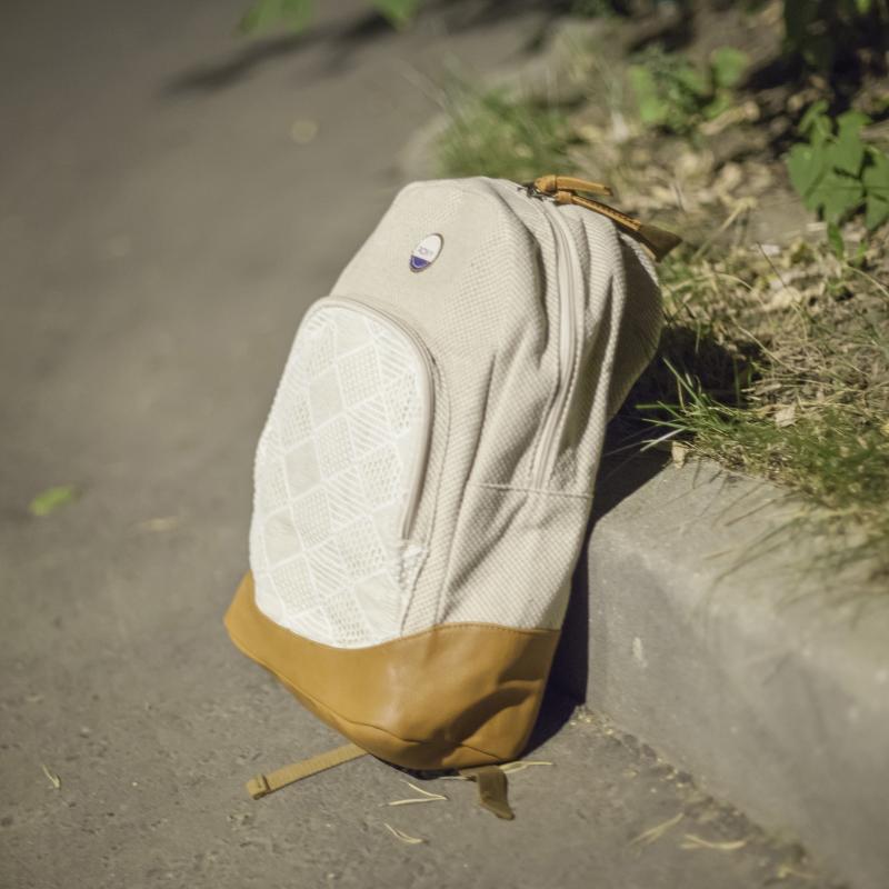 Рюкзак городской женский Roxy Bombora Natural