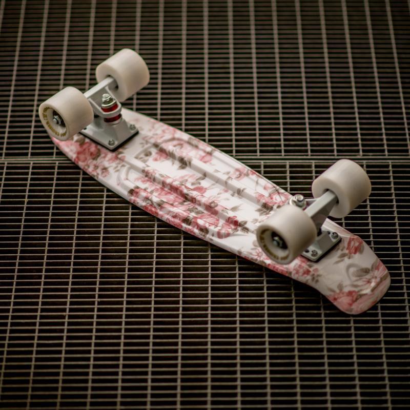 Скейт мини круизер Turbo-FB Rose White/White 22 (55.9 см)