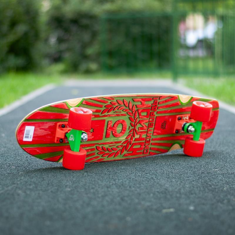 Скейт круизер Юнион Rose Red/Green 7.6 x 29.5 (75 см)