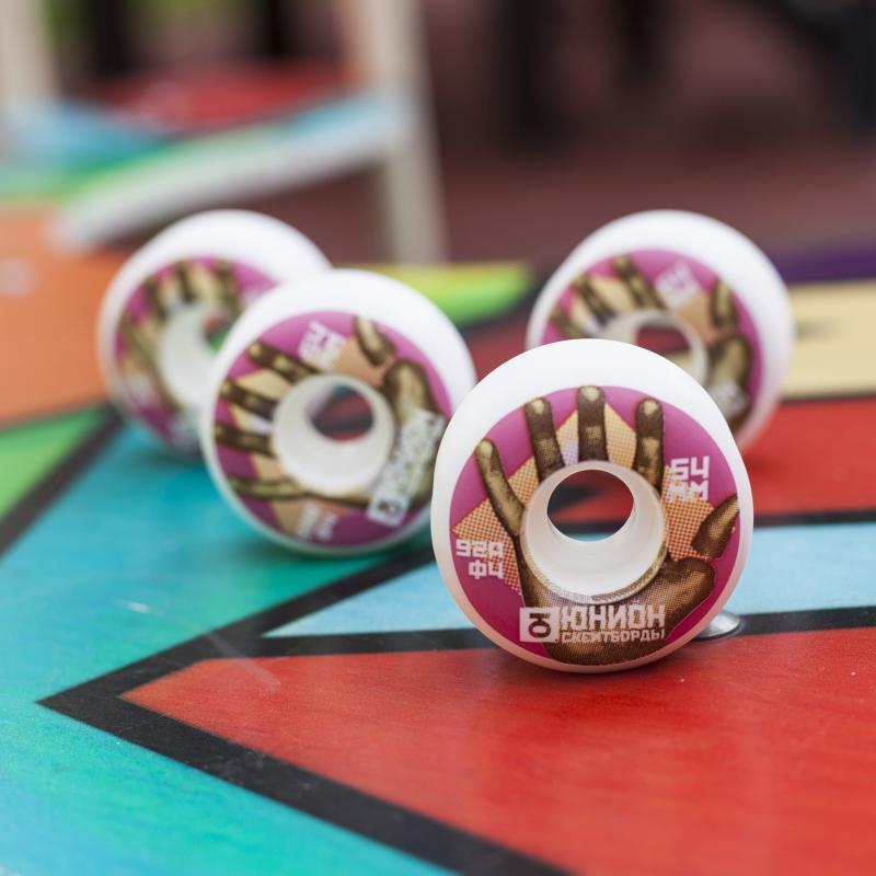 Колеса для скейтборда Юнион Wheels Hand 92A 54 mm