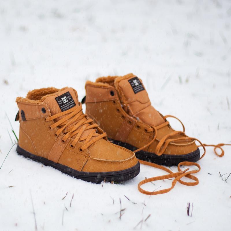 Ботинки зимние женские DC Shoes Woodland Wheat